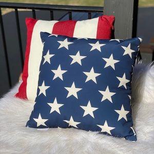 Pottery Barn Stars & Stripes Pillow Set (2)